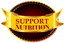 Support Nutrition Vitamins Logo