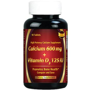 Calcium 600 + Vitamin D3