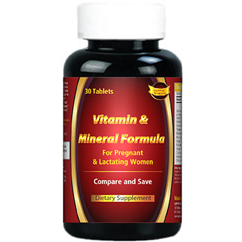 Vitamin & Mineral Formula For Pregnant & Lactating Women